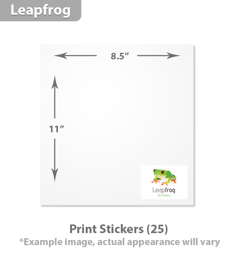 Leapfrog Printing Stickers (25)