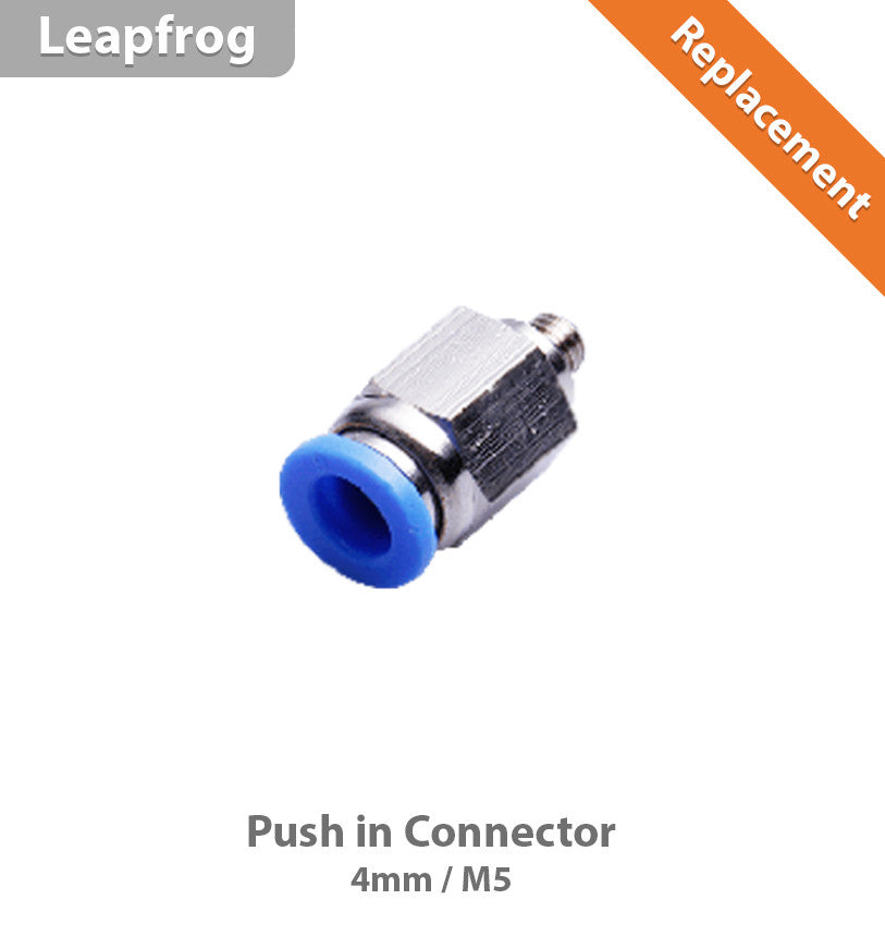 Leapfrog Push in Connector 4mm (M5)