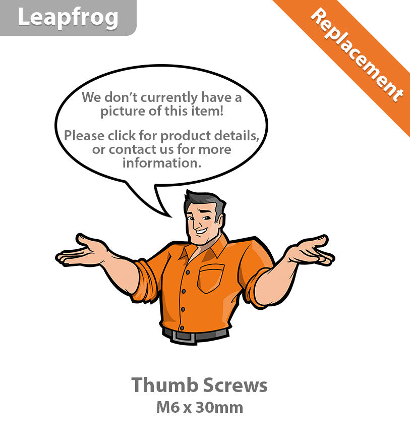 Leapfrog Thumb Screws M6x30