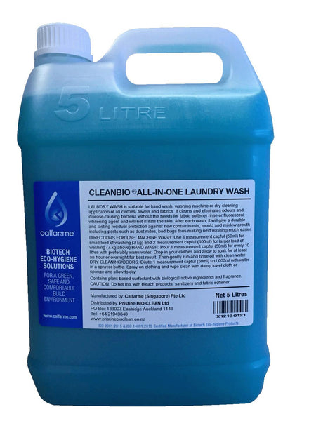 Laundry Wash - CLEANBIO All-in-one - 5 Litres
