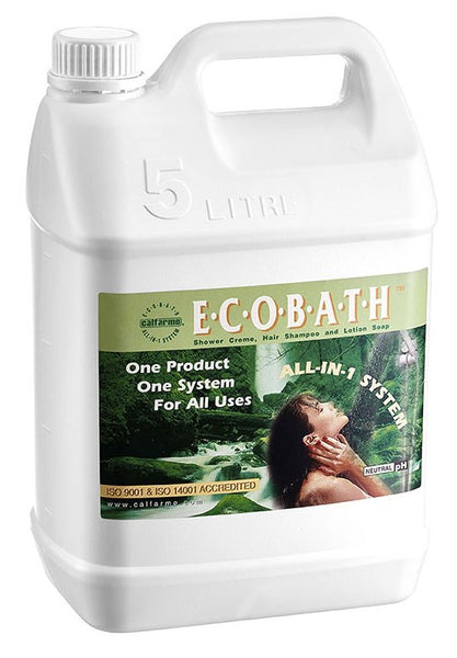 ECOBATH™ ALL-IN-ONE SHOWER CRÈME, HAIR SHAMPOO & LOTION SOAP