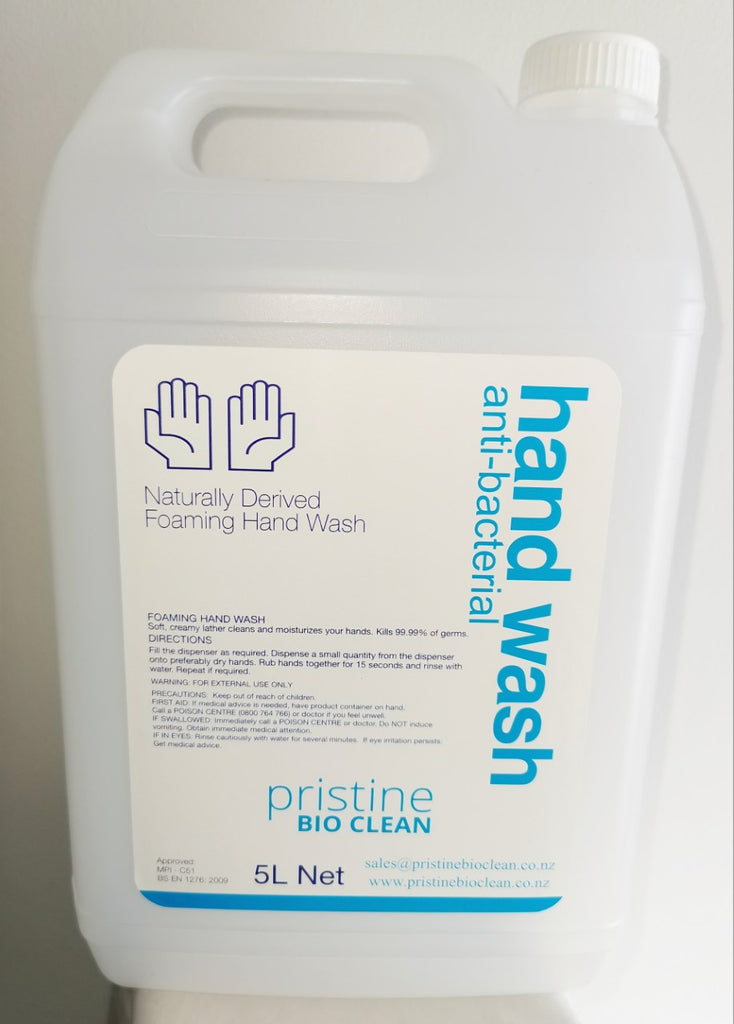 5 Litre FOAM HAND WASH
