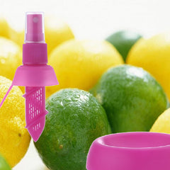 Mother Nature Citrus Squirter - Nifty Citrus Spray Gadget.