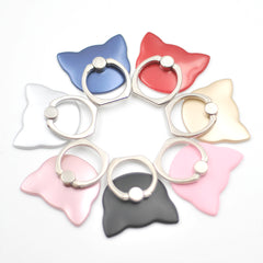 Cat Shape Finger Ring Smartphone Stand Holder UNIVERSAL