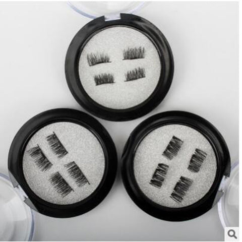 Natural Look Magnetic False Eyelashes High Quality Makeup 3D Lashes
