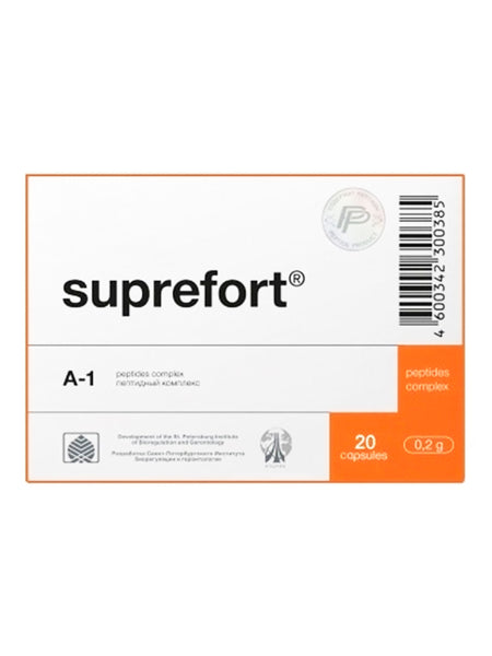 A-1 SUPREFORT - PANCREAS PEPTIDE 20 CAPSULES - Longevity Code - Live Longer