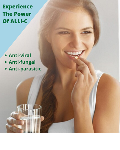 ALLI-C - 30 CAPSULES - Longevity Code - Live Longer