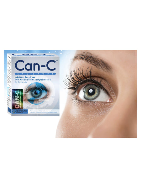 CAN-C EYE DROPS- 2 X 5ml Vials - Longevity Code - Live Longer