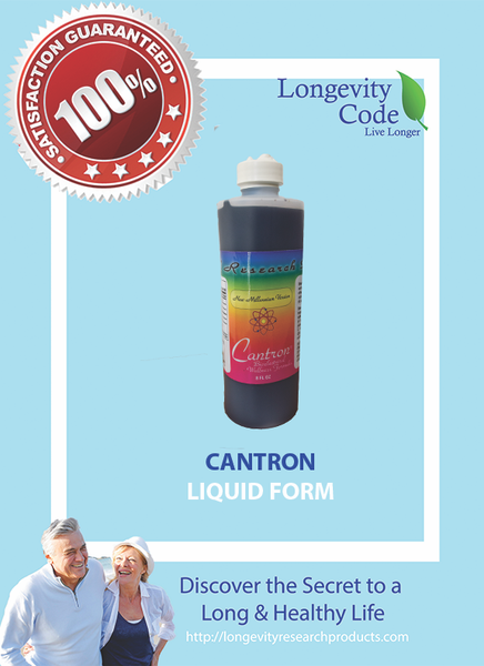 CANTRON BIOELECTRICAL WELLNESS FORMULA - 8 FL OZ - Longevity Code - Live Longer