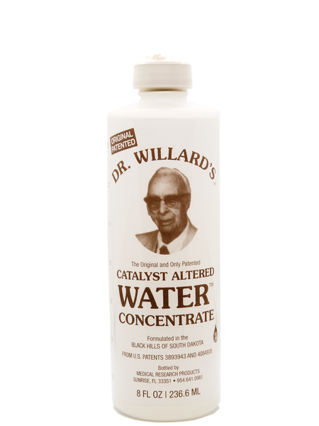 DR. WILLARD'S CATALYST ALTERED WATER CONCENTRATE - 8 FL OZ - Longevity Code - Live Longer