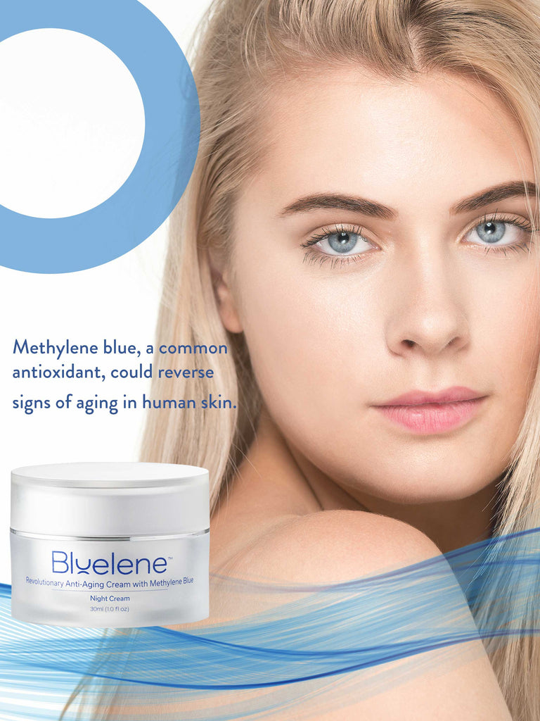 BLUELENE NIGHT CREAM - 30 ml - Longevity Code - Live Longer