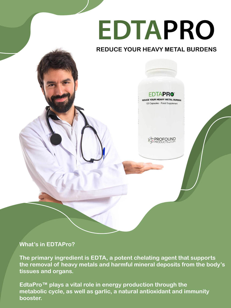 EDTA CHELATION (EdtaPro™) - 120 Capsules - Longevity Code - Live Longer