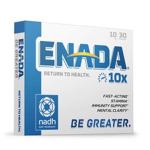 ENADA 10X -  10 MG, 30 CAPS - Longevity Code - Live Longer