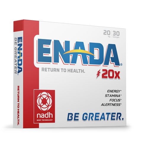 ENADA 20X - 20 MG, 30 CAPS - Longevity Code - Live Longer