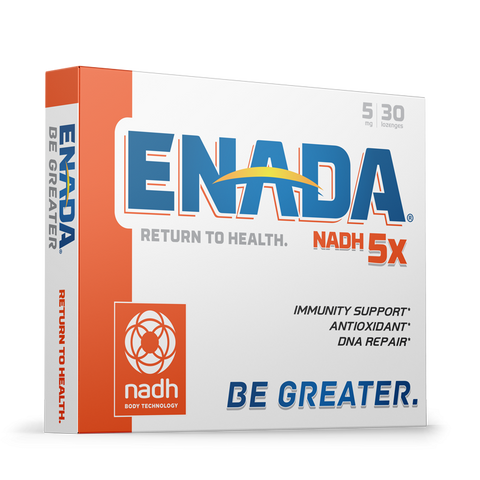 ENADA 5X - 5 MG, 30 CAPS - Longevity Code - Live Longer