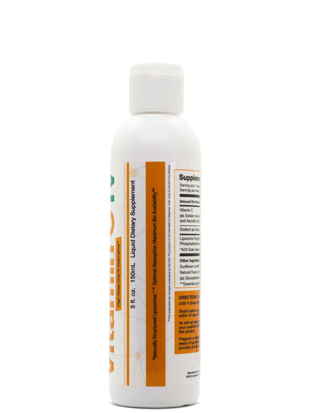 LYPO-SOMAL VITAMIN C IV - 5FL OZ - Longevity Code - Live Longer