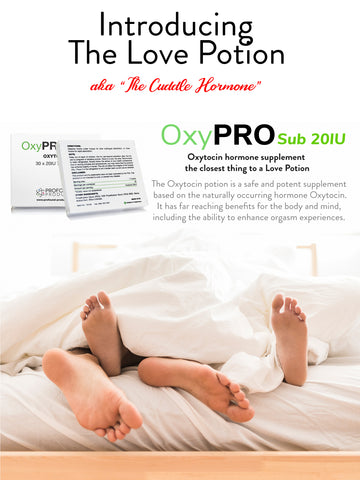 OXYPRO™ HI POTENCY SUB 20IU - 30 X 20IU - Longevity Code - Live Longer