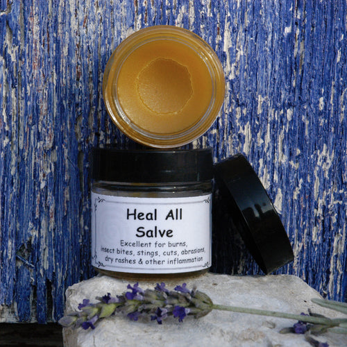 Lavender-Calendula Salve (formerly Heal All)