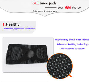 Elastic breathable knee Pads to Prevent Injury and Reduce Pain