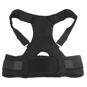 New Posture Corrector Brace & Back Pain Support - Men & Women - Adjustable Posture Band