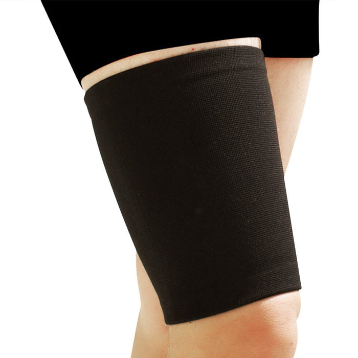Nylon Spandex Breathable Thigh Sleeve to Prevent Injury and reduce Pain (S/M/L)