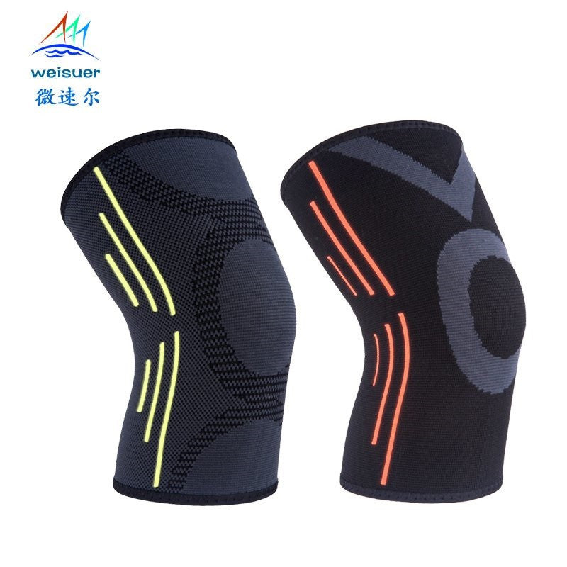 Breathable Knee Pads w/ Elastic Protection to Prevent Sporting Injuries and Reduce Pain