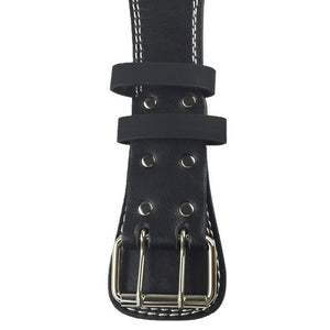 High Quality PU Leather Weight Lifting Belt with Wide Back