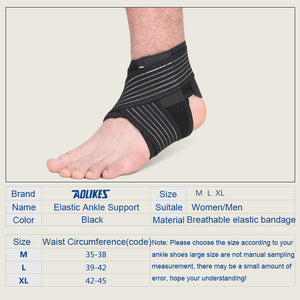 1PCS Elastic Ankle Brace to Prevent Injury and Reduce Pain