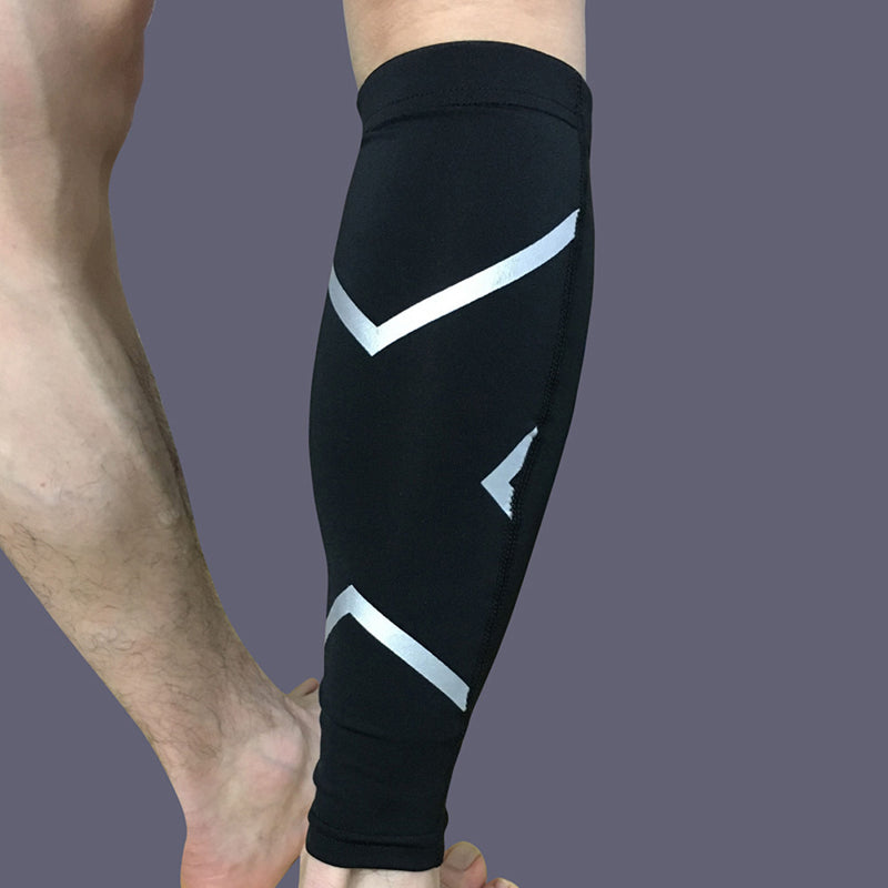 Antislip Compression Sleeves for Calf, Leg & Shin Splint Protection