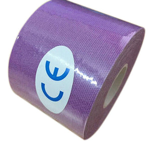 Kinesiology Roll - 5cmx5m - Cotton Elastic Adhesive - Muscle Bandage for Strain & Injury