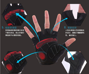 Non-Slip Resistant Gloves for Workingout, Gym, Weightlifting Bodybuilding & Sports