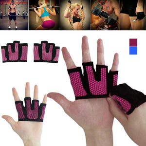 1 Pair - Breathable - Half Four Finger Glove - Workout Hand Protection