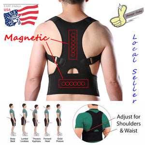 Neoprene Magnetic Back Support and Posture Corrector