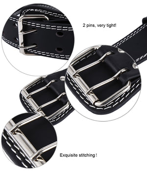 Weight Lifting Belt - Wide Back - PU Leather