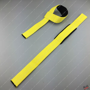 1 Pair - 2 Straps - Weight Lifting Bar Support - Enhanced Hand to Bar Grip