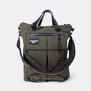 X-Town Tote Moss Green