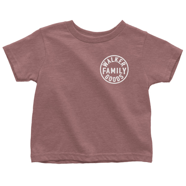 Toddler Tee Good Vibes (mauve triblend)