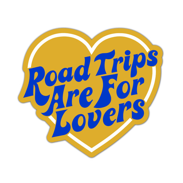 Sticker Road Trips Are For Lovers