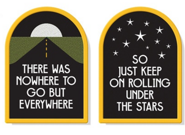 Patches Best Friend Kerouac set