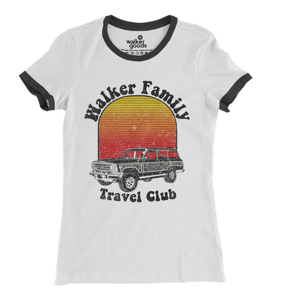 Women's Walker Family Travel Club Tee