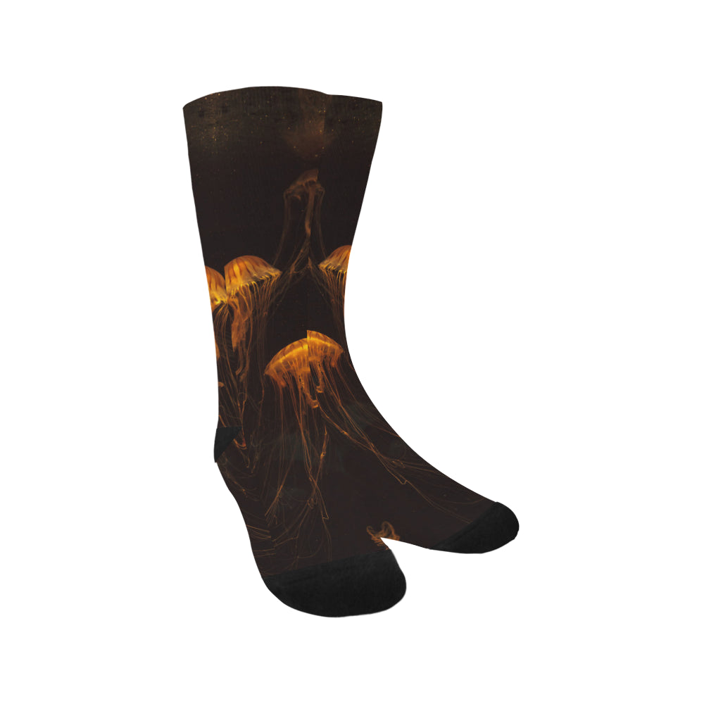 Japanese sea nettle Jellyfish Trouser Socks - Perinterest