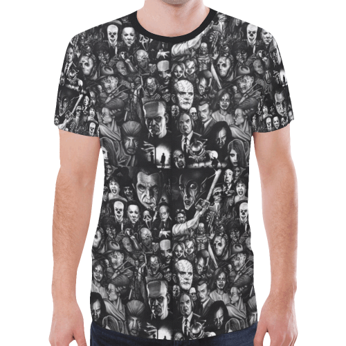 Horror Heads Men T-shirt