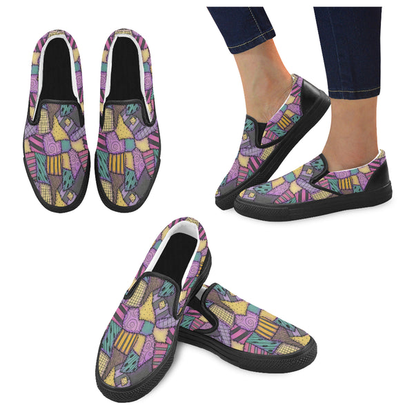 Sally Dress Women Slip-on Canvas Shoes