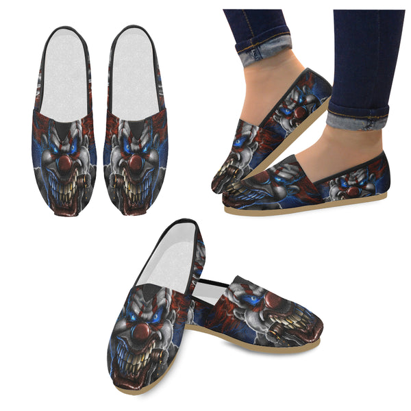 Clown Slip on Loafers Flats