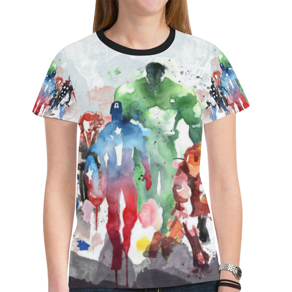 All Over Print T-shirt for Women