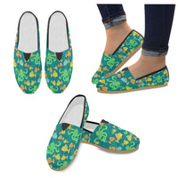 Funny Octopus And Fish Loafers Flats - Perinterest