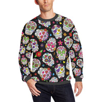Men's All Over Print Fleece Crewneck Sweatshirt