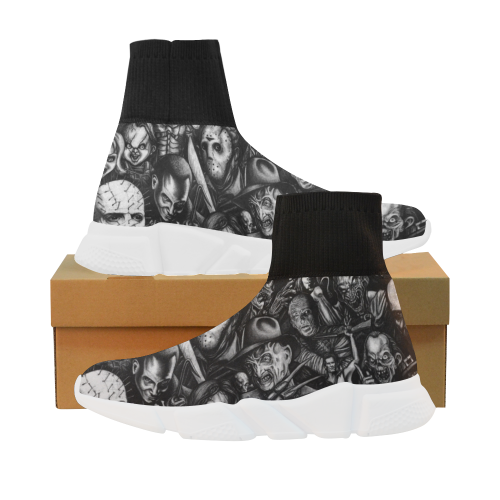 Horror Heads Stretch Sock Men's Shoes
