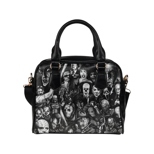 Horror Heads Shoulder Handbag