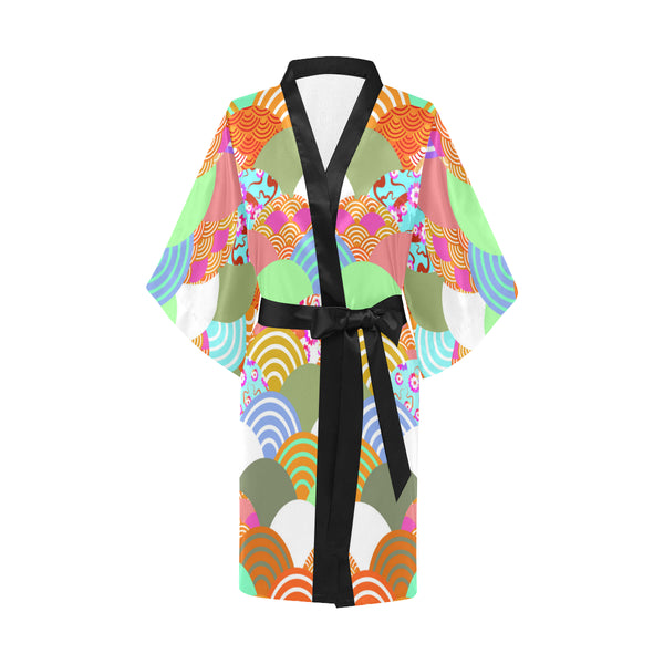 All Over Print Bomber Jacket for Women